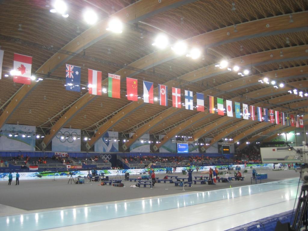 Richmond Oval - Inside