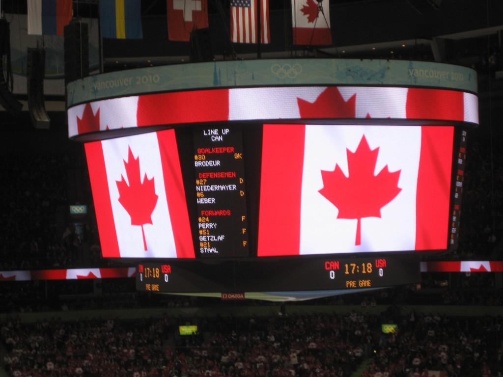 Canadian lineup