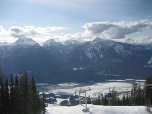 Revelstoke - Mount Mackenzie view