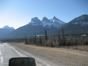 Three Sisters - Canmore, AB